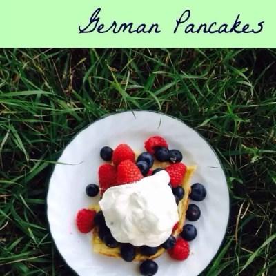 Oatmeal German Pancakes