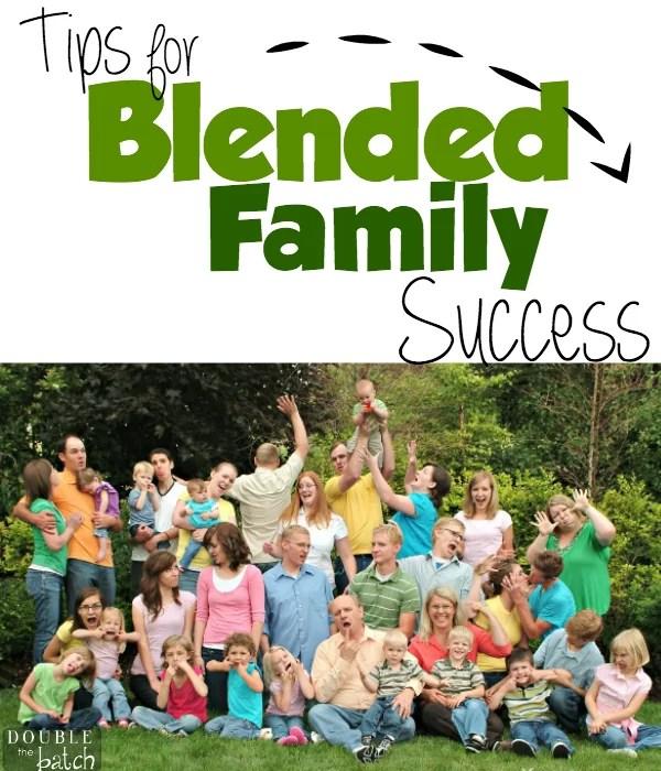 TIps for blended families
