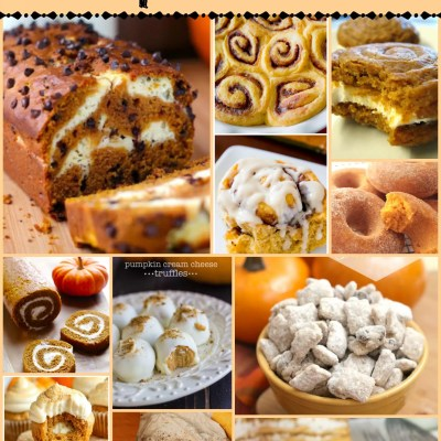 20 Mouth Watering Pumpkin Desserts