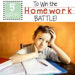 5 Ways to Get Your Kid To Do Their Homework