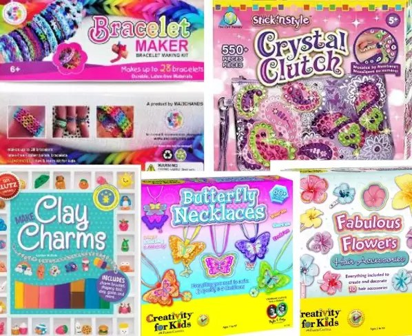 Fun and affordable gift ideas for 8 10 years old girl for Craft gift ideas for girls