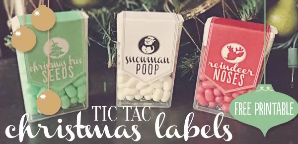 cheap neighbor gifts tictac christmas labels free printable uplifting mayhem - Christmas Gifts For Friends Cheap