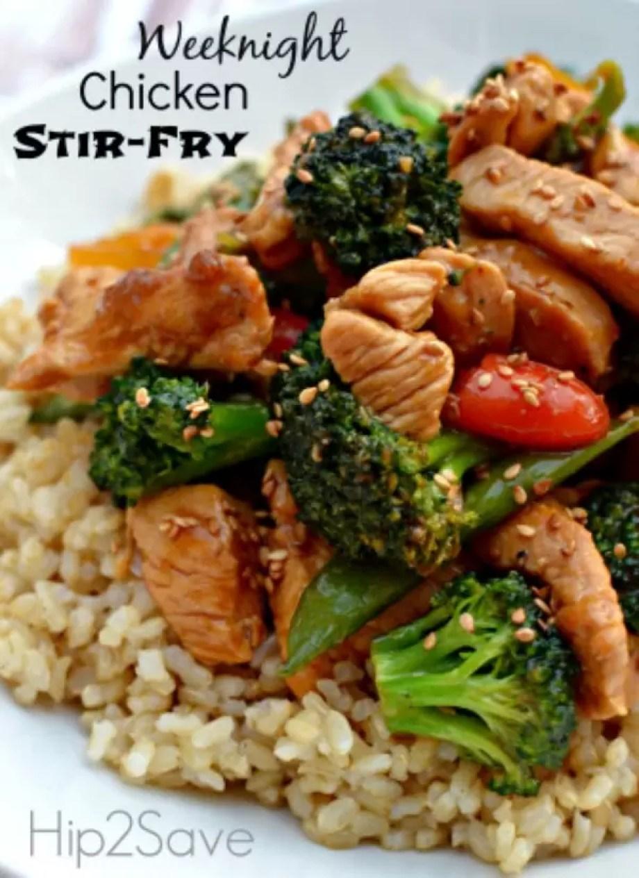 Chicken Stir Fryby Hip 2 Save