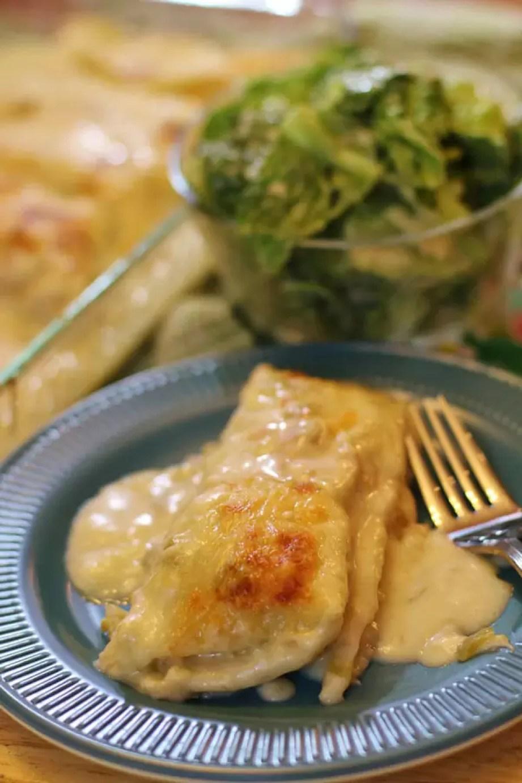 White Chicken Enchiladasby Joyful Momma's Kitchen