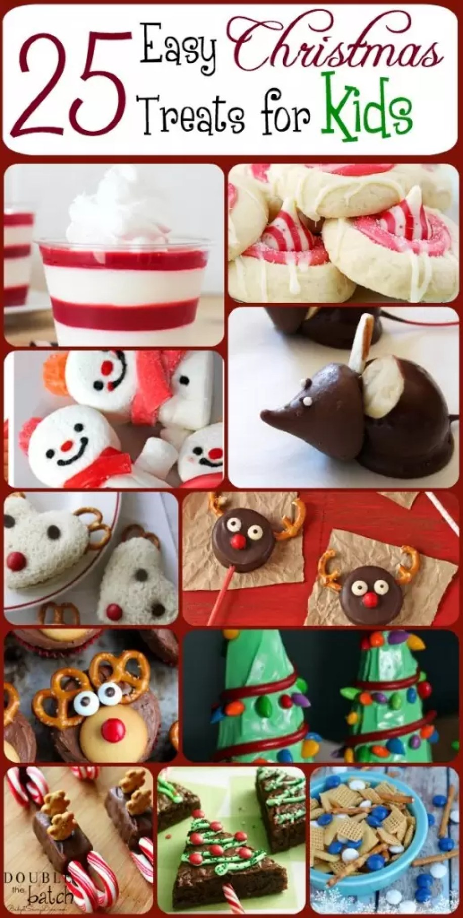 25 cute and easy christmas treats for kids
