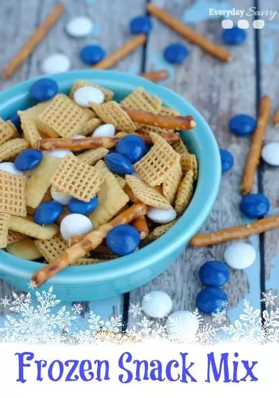 Frozen Snack Mix by Everyday Savvy