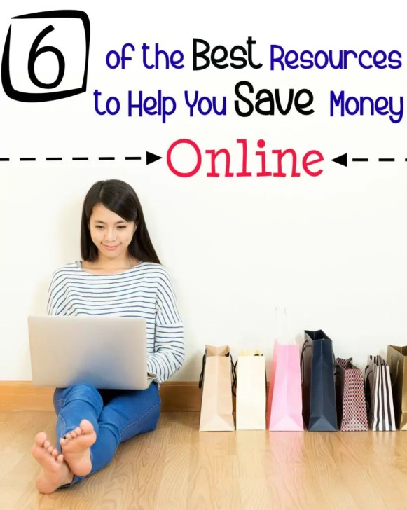 6+awesome sites to help you save money online!