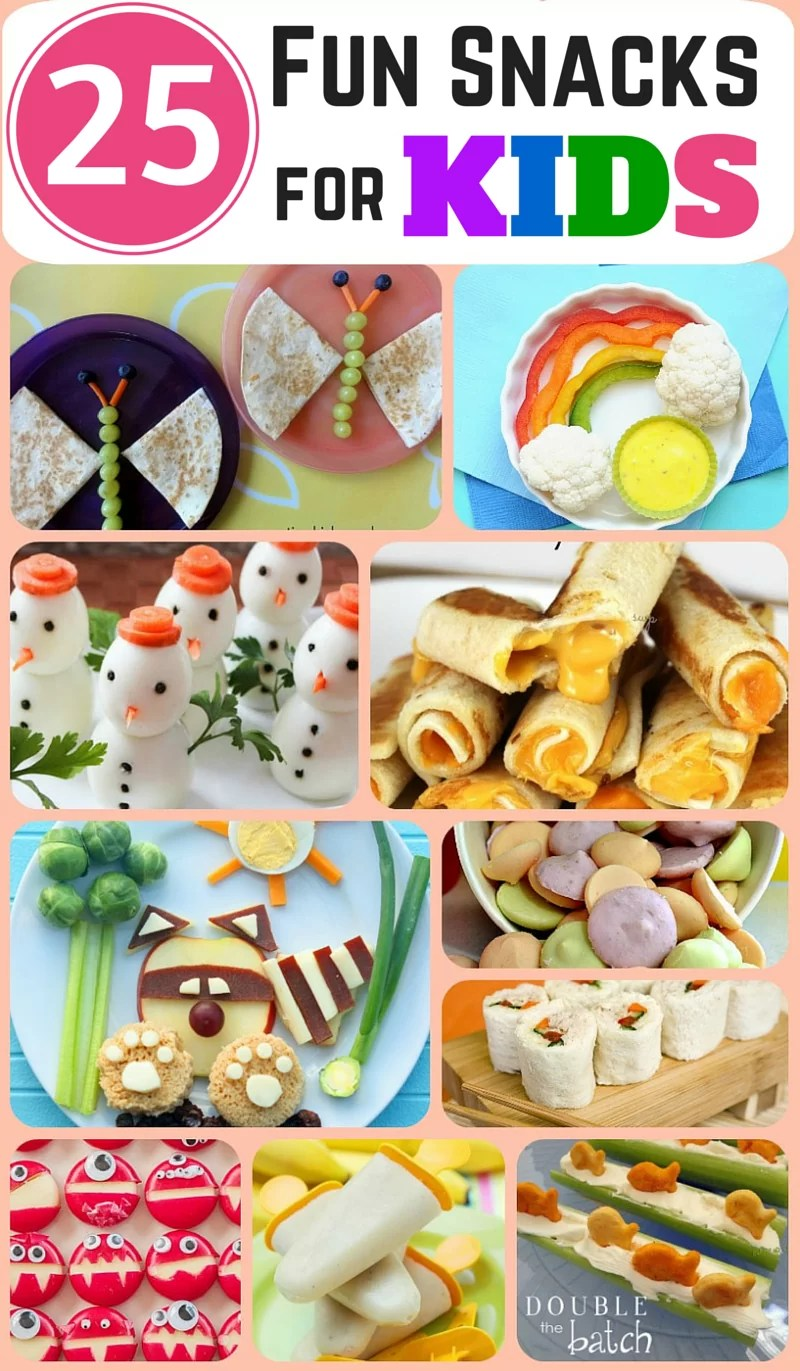 Cute and fun snacks you can make for your kids! Great for parties and special occasions!