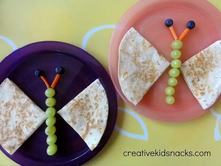 Butterfly Quesadillas by Creative Kid Snacks