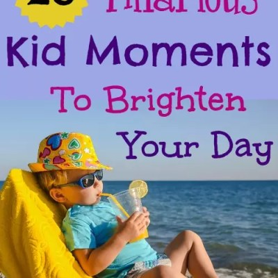 25 Hilarious Kid Moments to Brighten Your Day