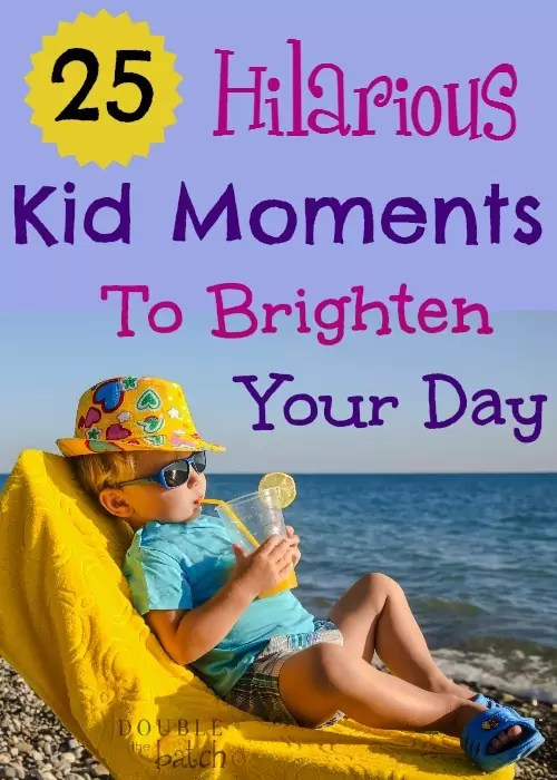 Kids say the most hilarious things- I love it!