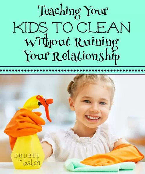 getting kids to clean