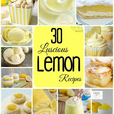 30 Luscious Lemon Recipes