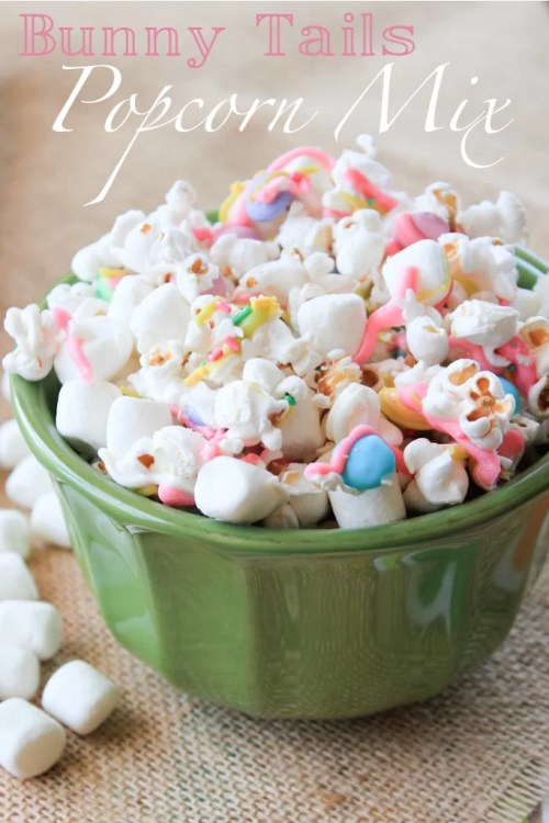 Bunny Tails Popcorn Mix from Framed Frosting