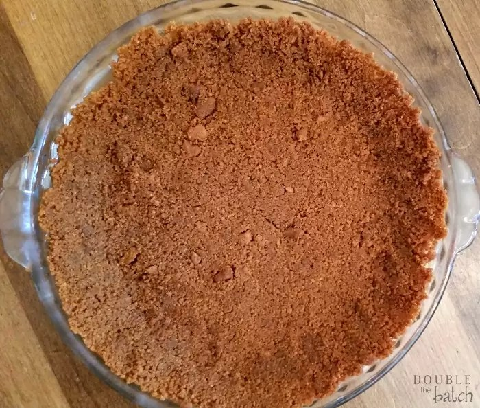 Biscoff No Bake Cherry Cheesecake