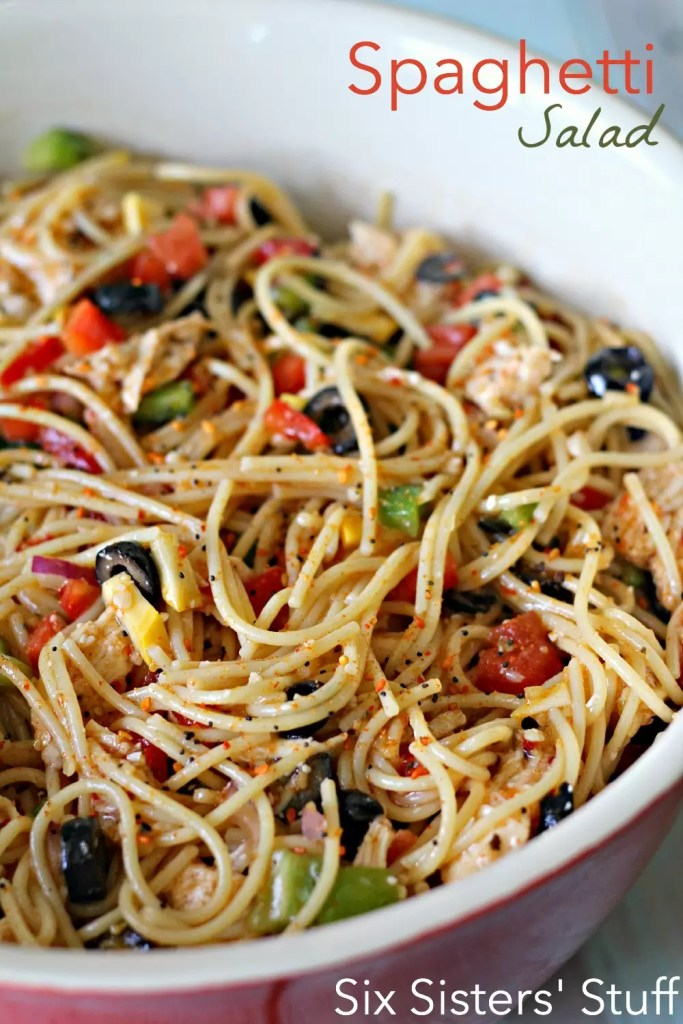 Spaghetti Saladby Six Sisters Stuff