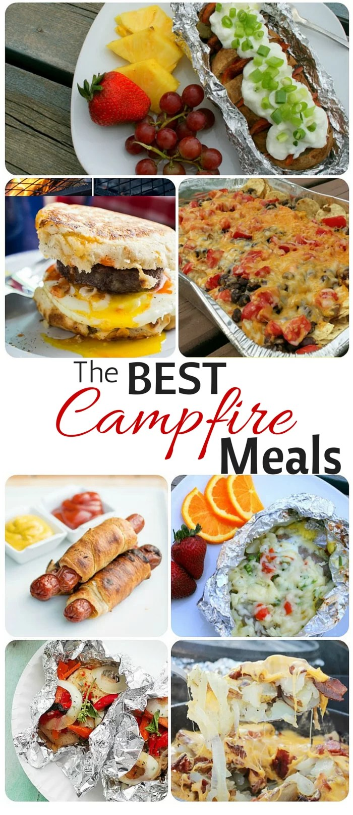 Simple And Easy Camping Meals Breakfast Lunch Dinner