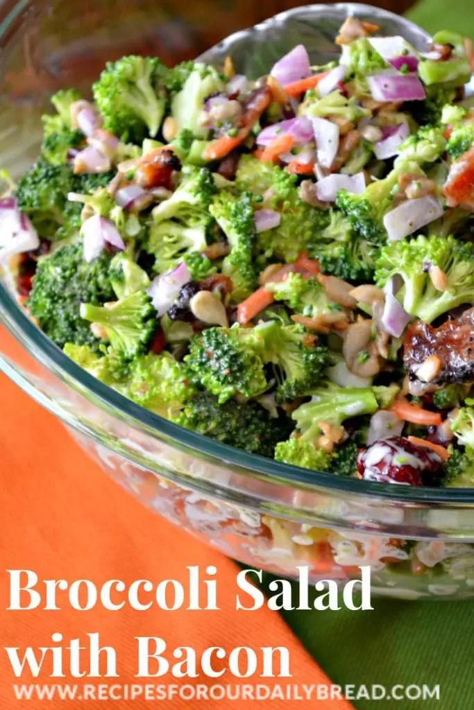 brocolli bacon salad