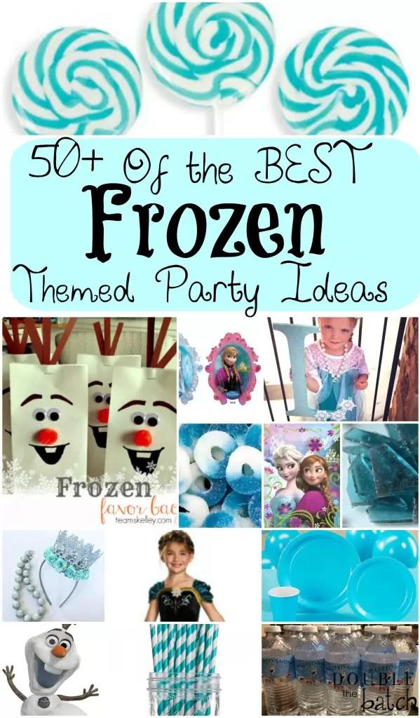 Frozen Themed Food Ideas