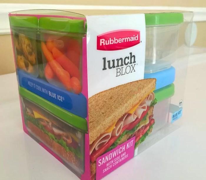 Rubbermaid Lunch Blox