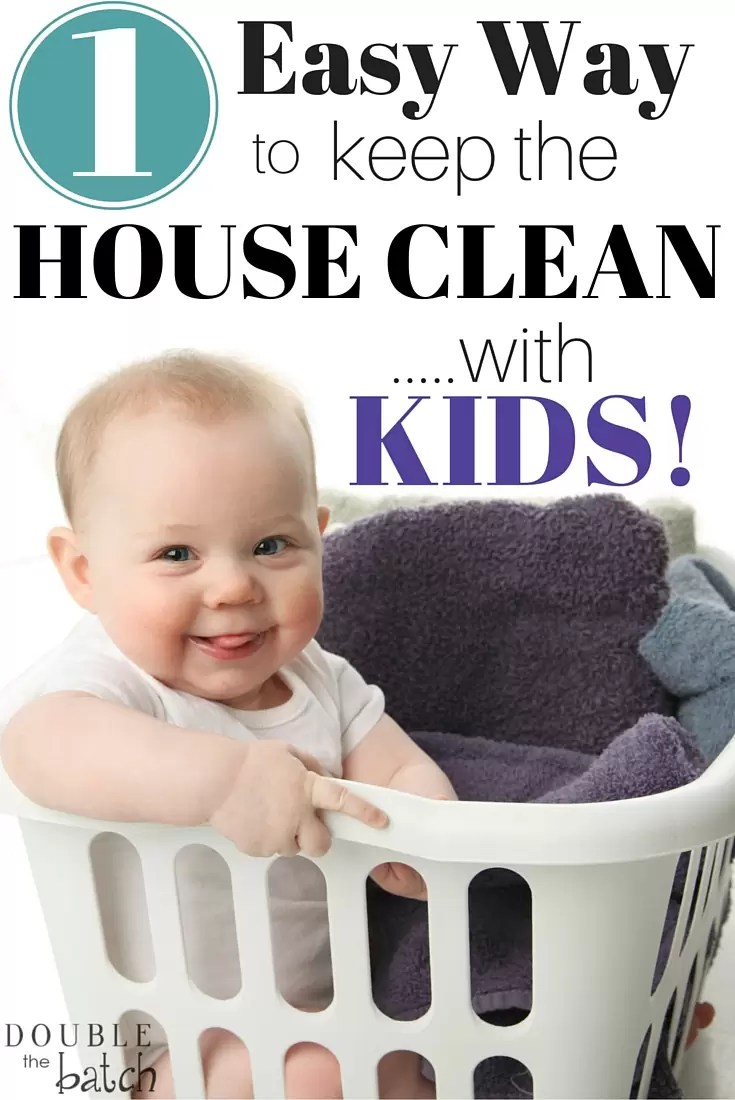 This one cleaning tip has literally saved my home...and my motherhood!