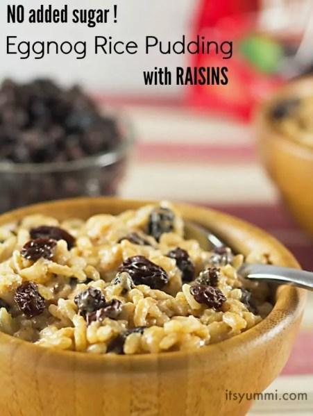 low-sugar-eggnog-rice-pudding-with-raisins-image-718x953