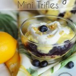 Lemon Blueberry Mini Trifles