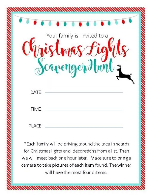 Free Printable Invitations