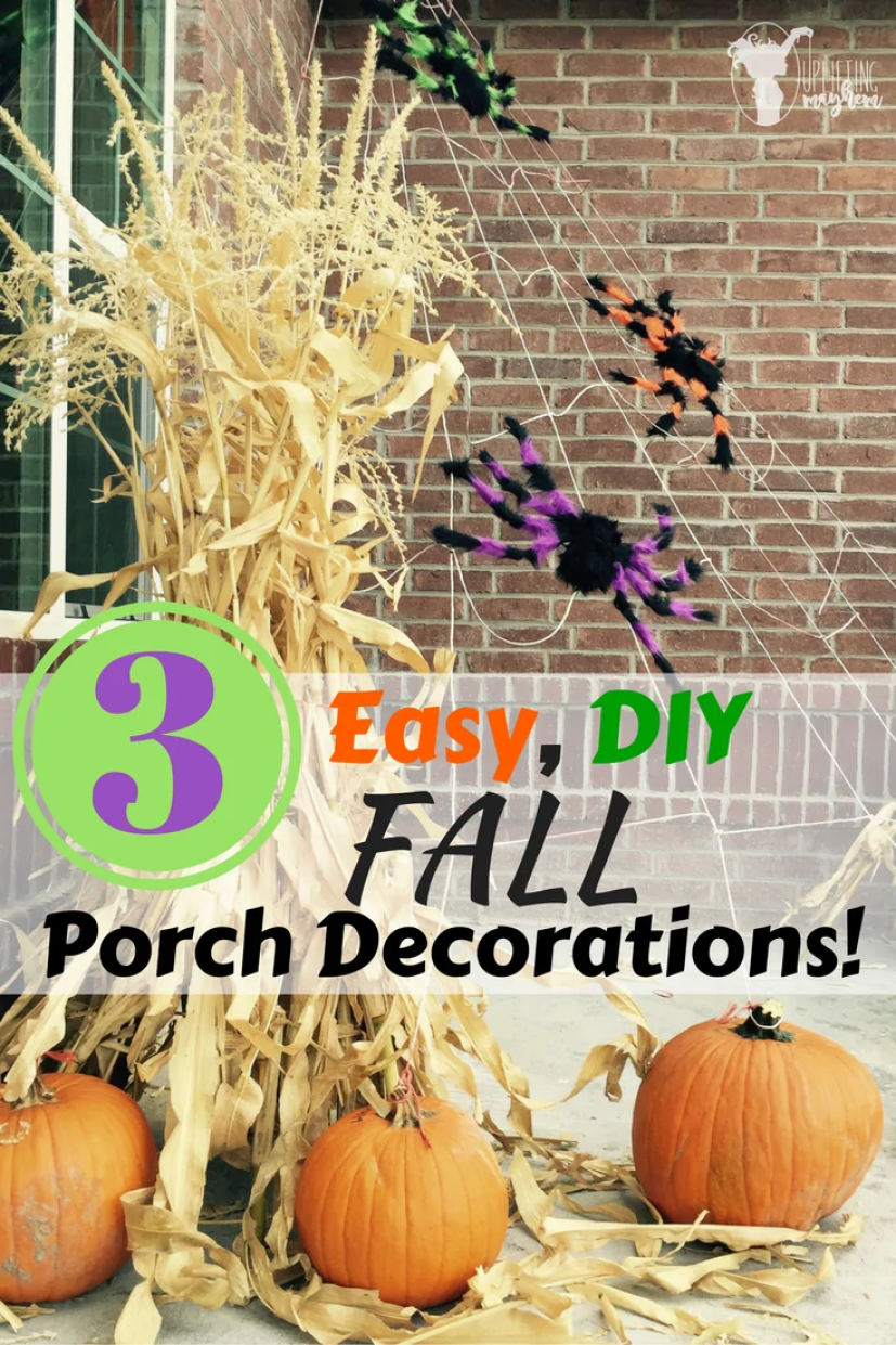 ADORABLE and EASY Fall Porch Decorations!