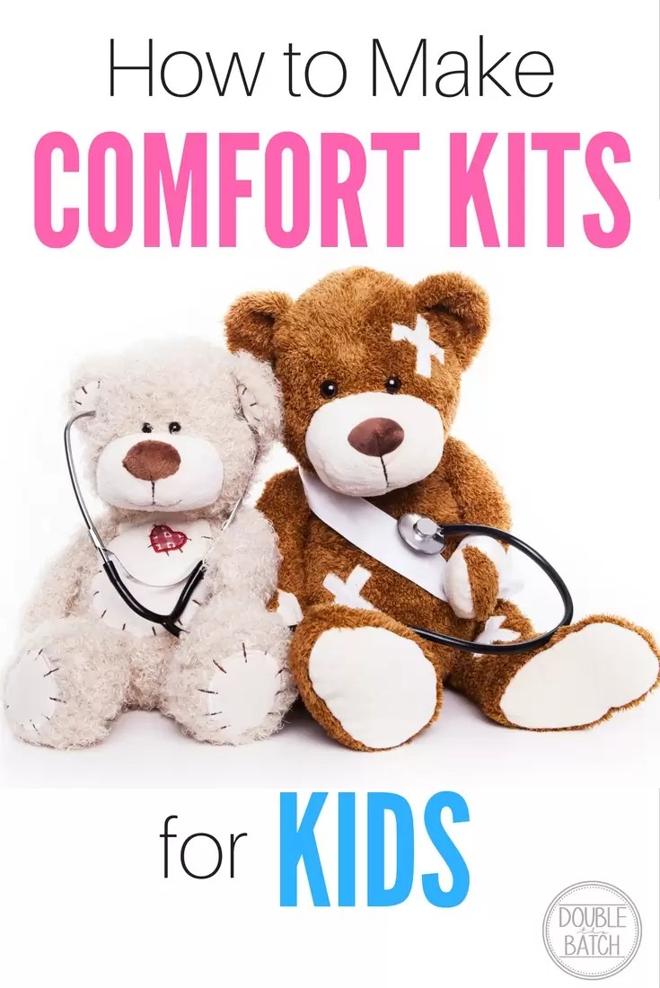 #LIGHTtheWORLD! These comfort kits are great for natural disasters, emergencies or for when your kid is just going through a rough patch! Also a great idea for families to make for neighbor gifts!