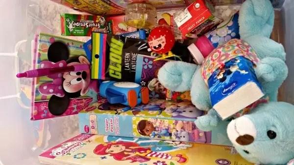 Comfort kits for kids