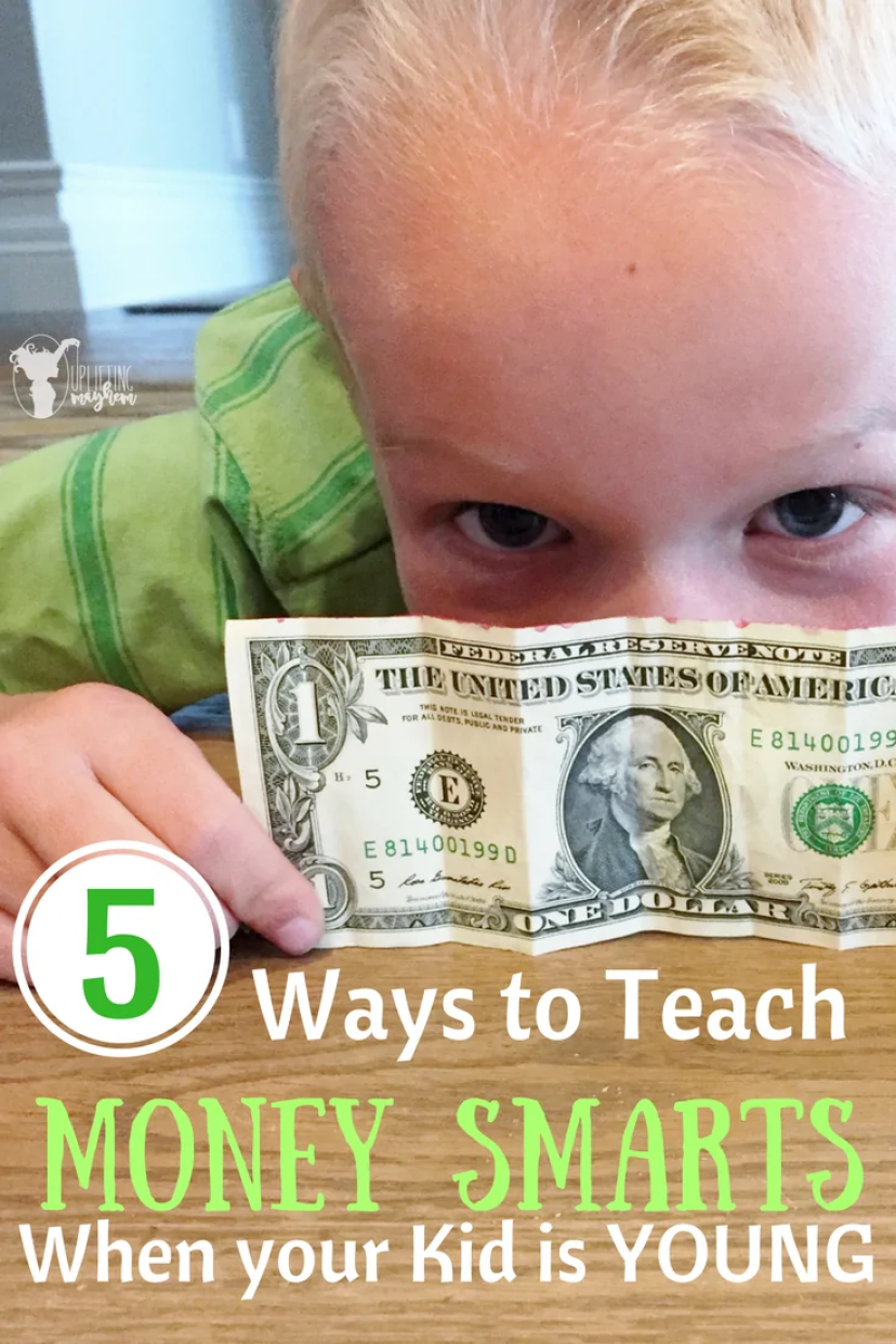 Ways to Teach MONEY SMARTS when your kid is young!