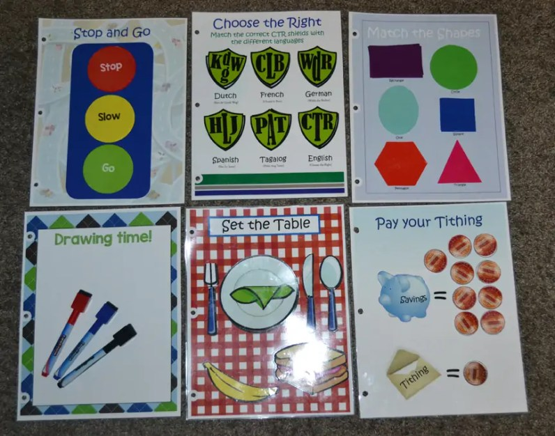 DIY Quiet Book Ideas