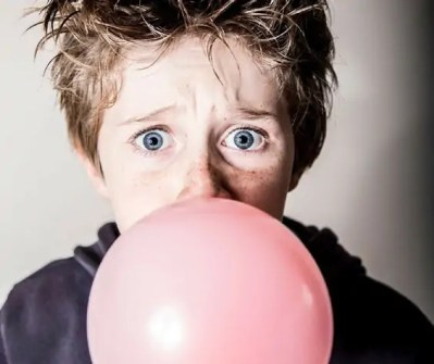 How to remove Bubble gum from skin and hair