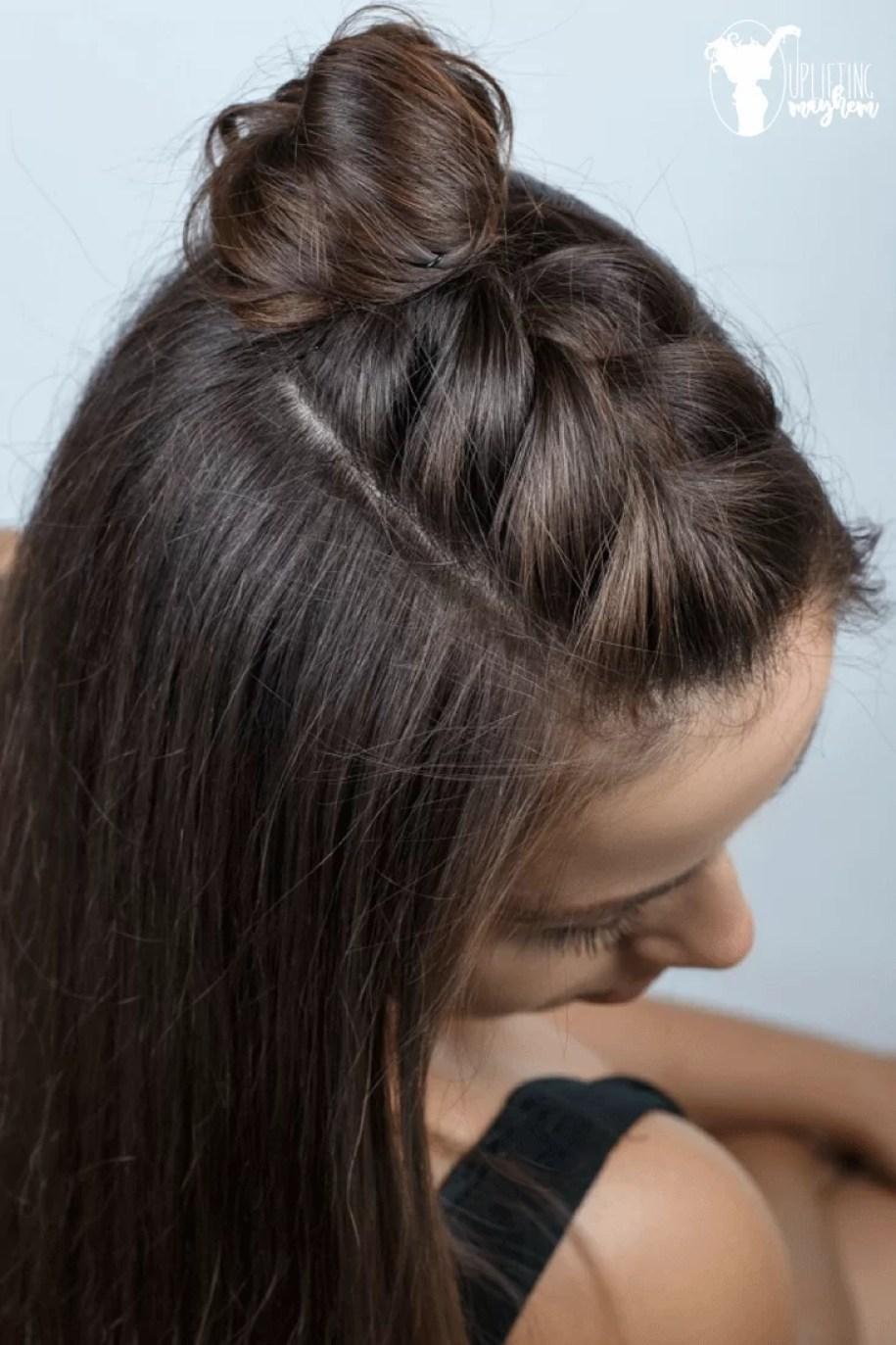 Easy Half Braid Hairstyle Tutorial - Video Hairstyle Tutorial