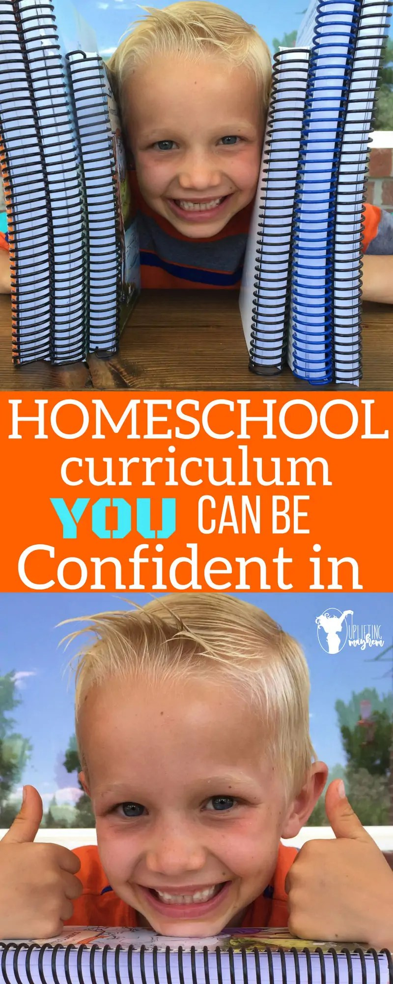HOMESCHOOL curriculum you can be confident in!