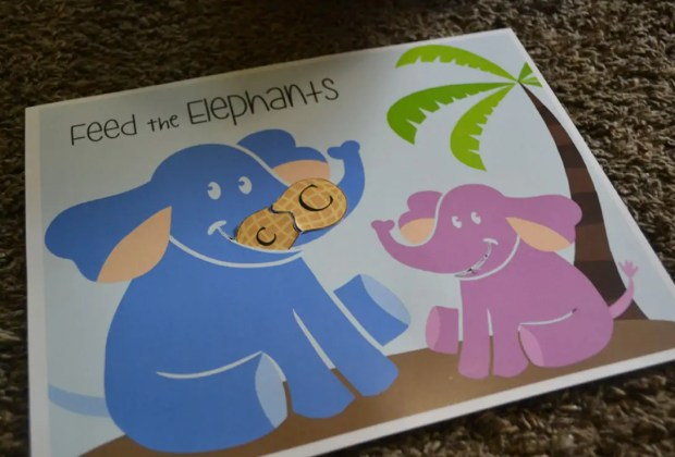 FEED THE ELEPHANT- ABC ACTIVITY