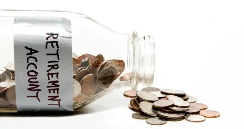 coins, jar, retirement