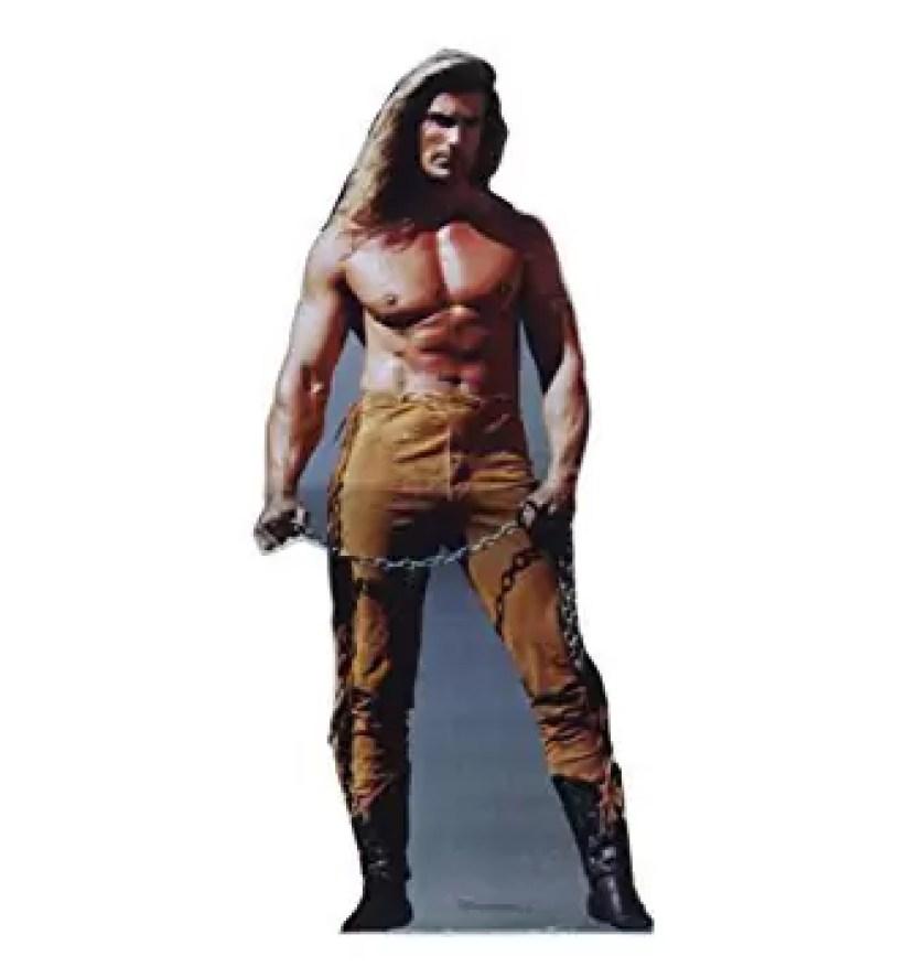 Fabio life-size cutout