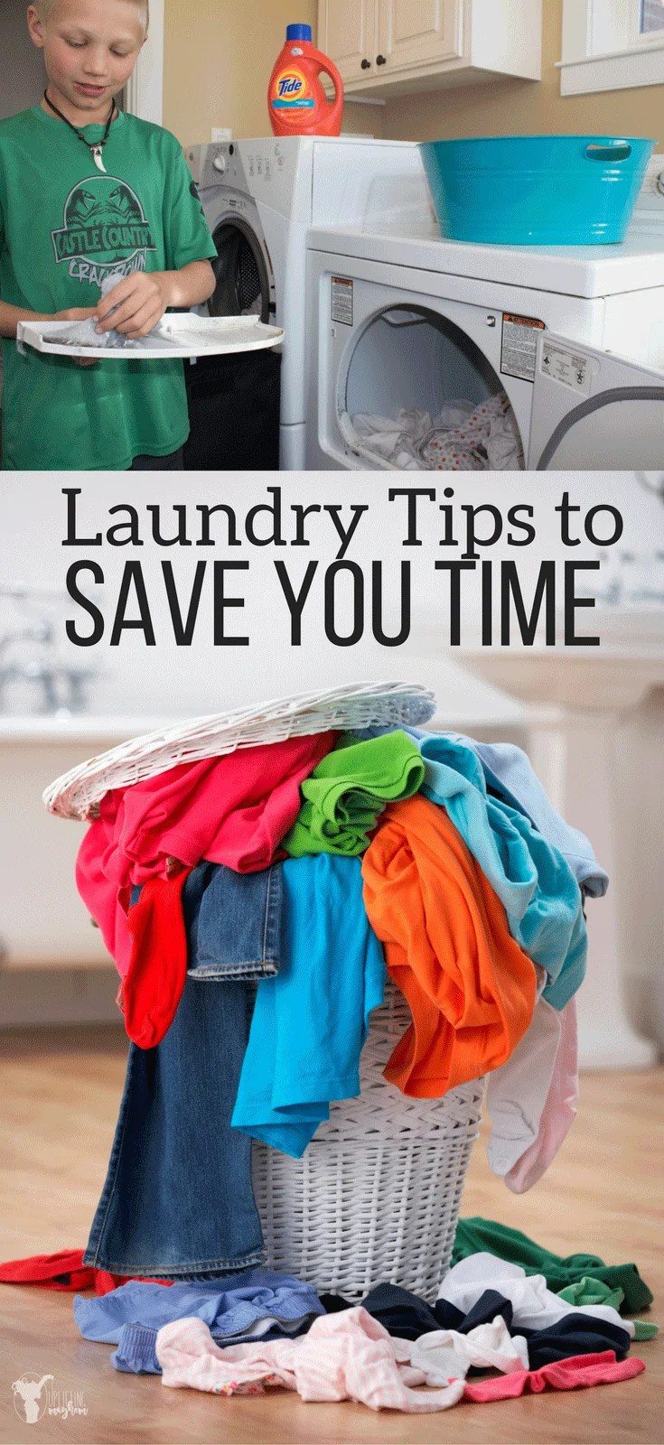 Laundry Tips to Save you Time