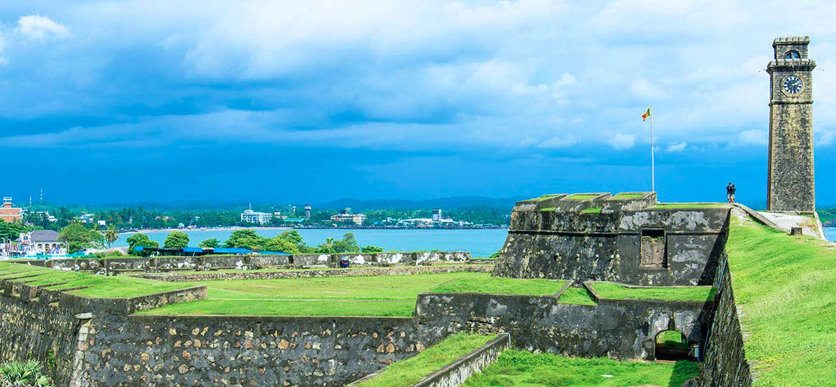 Galle-Fort-main