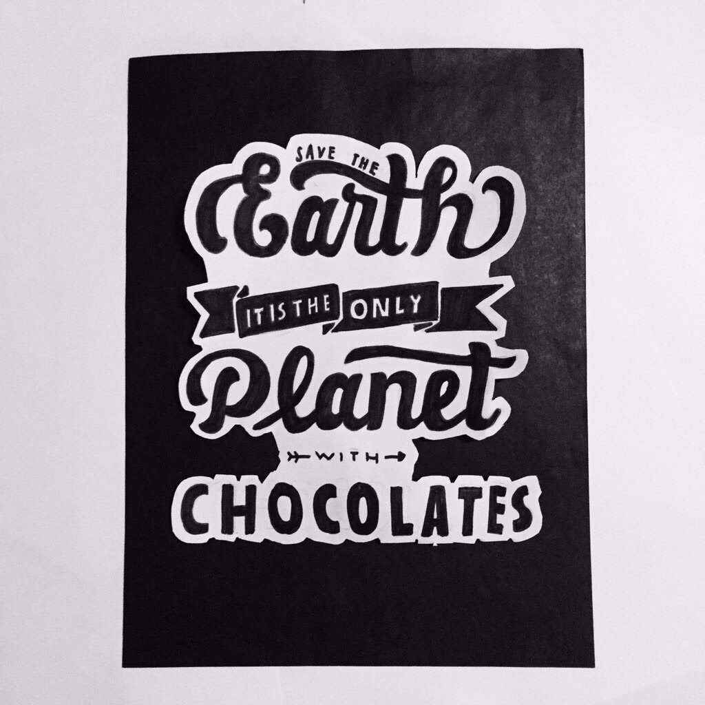 Image of: Background Quotes Chocolates Black And White Black And White Earth Calligraphy Lettering Uploadandwincom Quotes Chocolates Black And White Black And White Earth