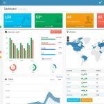 15 belos templates grátis para o seu admin em Bootstrap