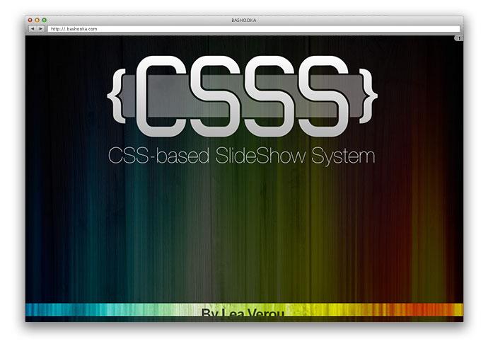 csss 7 - Lista Top 10 com plugins para criar fantásticas apresentações utilizando apenas HTML 5 e CSS