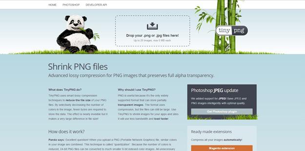 1 tinypng - 12 ferramentas para você compactar suas imagens e reduzir o tamanho em até 80%