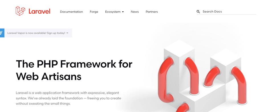 laravel - 7 melhores PHP Framework de 2020