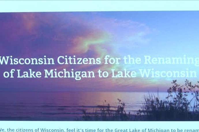 Lake Michigan changing to Lake Wisconsin__4507496868036625890