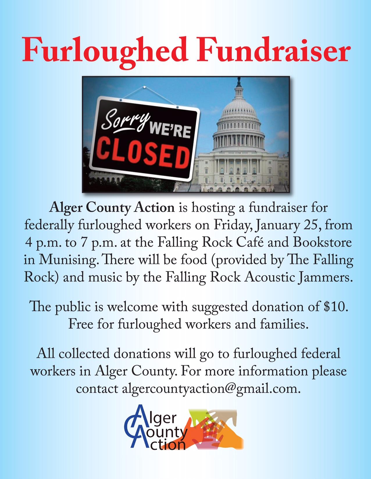 Munising furlough fundraiser