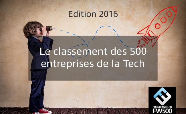 UpMyBiz dans le classement des 500 entreprises de la Tech