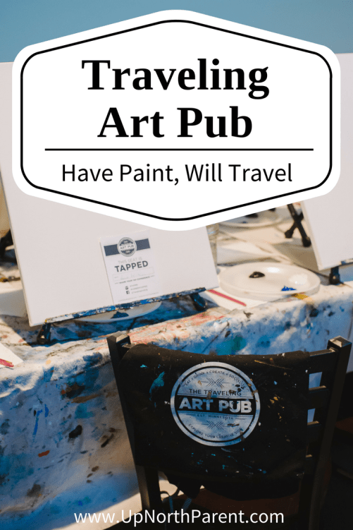 The Traveling Art Pub in Brainerd, Minnesota | TAP at Jack Pine Brewery